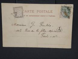 FRANCE - Lettre Taxées - A Découvrir - Lot 7021 - Poststempel (Briefe)