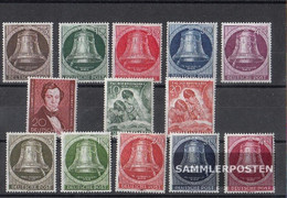 Berlin (West) 1951 Unmounted Mint / Never Hinged Complete Volume In Clean Conservation - Unused Stamps