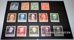 Berlin (West) 1952 Unmounted Mint / Never Hinged Complete Volume In Clean Conservation - Unused Stamps