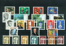 Berlin (West) 1972 Unmounted Mint / Never Hinged Complete Volume In Clean Conservation - Unused Stamps