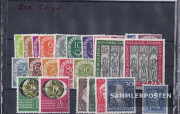 FRD (FR.Germany) 1951 Unmounted Mint / Never Hinged Complete Volume In Clean Conservation - [7] Federal Republic