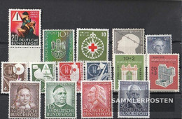 FRD (FR.Germany) 1953 Unmounted Mint / Never Hinged Complete Volume In Clean Conservation - [7] Federal Republic