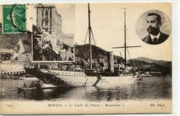 MONACO(BATEAU YACHT DU PRINCE HIRONDELLE) - Harbor