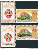 Korea 1975, SC #1317-18, Perf &  Specimen, 63rd Birthday Of Kim Il Sung - Celebrations
