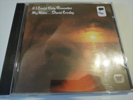 David Crosby - If I Could Only Remember My Name - Atlantic 7567 81415 2 - Germany - Country Et Folk