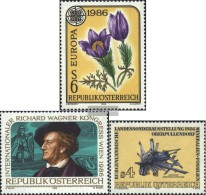 Austria 1848,1849,1850 (complete.Expenditure) Unmounted Mint / Never Hinged 1986 Special Stamps - 1945-.... 2nd Republic