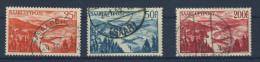 Saar Nr. 252 - 254 gestempelt used