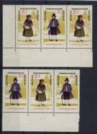 DDR W Zd 172 , 173 ** postfrisch