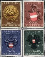 Austria 937-940 (complete.issue.) Unmounted Mint / Never Hinged 1949 Insurance - 1945-.... 2ème République