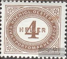Austria P25 Unmounted Mint / Never Hinged 1900 Postage Stamps - Impuestos