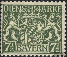 Bavaria D25 Unmounted Mint / Never Hinged 1916 State Emblem - Bavaria