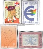 Belgium 1975,1976,1980,1981 (complete.issue.) Unmounted Mint / Never Hinged 1979 Eulenspiegel, PArliAment U.A. - Belgique