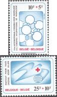 Belgium 2056-2057 (complete Issue) Unmounted Mint / Never Hinged 1981 Red Cross - Belgium