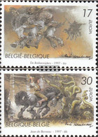Belgium 2745-2746 (complete Issue) Unmounted Mint / Never Hinged 1997 Say And Legends - Belgium
