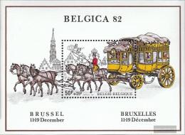 Belgium Block53 (complete Issue) Unmounted Mint / Never Hinged 1982 Belgica 82 - Blocks & Sheetlets 1962-....