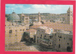 Jerusalem. Israel, Posted With Stamp, A18. - Israele