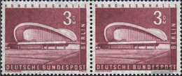 Berlin (West) 154wP Horizontal Couple Unmounted Mint / Never Hinged 1958 Cityscapes - [5] Berlin