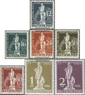 Berlin (West) 35-41 (complete Issue) Unmounted Mint / Never Hinged 1949 UPU - Unused Stamps