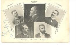 ! - Belgique - J. Keppenne - Th. Radoux - L. Fraigneux - J. Duysburgh - S. Dupuis - Célébrités