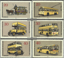 Berlin (West) 446-451 (complete.issue) Unmounted Mint / Never Hinged 1973 Berlin Transport Museum - Unused Stamps