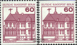 Berlin (West) Mi.-number.: 611C-611D (complete.issue) Unmounted Mint / Never Hinged 1979 Fortresses And Castles - Unused Stamps