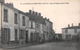 ¤¤   -   39   -   LA CHAPELLE-BASSE-MER    -   Place De L'Eglise , Rue Du Paradis   -  ¤¤ - La Chapelle Basse-Mer