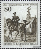 Berlin (West) 693 (complete.issue) Unmounted Mint / Never Hinged 1983 Telegraph Line - Unused Stamps
