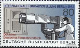 Berlin (West) 741 (complete.issue) Unmounted Mint / Never Hinged 1985 German Tv Radio - Unused Stamps