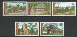 """Wallis YT 203 à 207 """" Batiments Monuments """" 1977 Neuf** - Unused Stamps"""