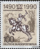 Berlin (West) Mi.-number.: 860 (complete.issue) Unmounted Mint / Never Hinged 1990 Postal Connections - [5] Berlin