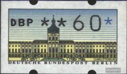 Berlin (West) ATM1, 0.60 Nominal Fine Used / Cancelled 1987 Automatenmarken - [5] Berlin