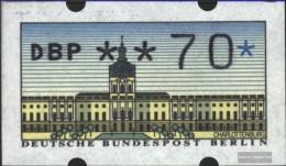 Berlin (West) ATM1, 0.70 Nominal Unmounted Mint / Never Hinged 1987 Automatenmarken - [5] Berlino