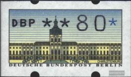 Berlin (West) ATM1, 0.80 Nominal Fine Used / Cancelled 1987 Automatenmarken - [5] Berlin