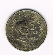 *** PILIPINAS  5  PISO  1997 - Philippines