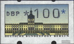 Berlin (West) ATM1, 1.00 Nominal Unmounted Mint / Never Hinged 1987 Automatenmarken - Unused Stamps