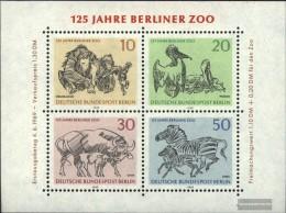 Berlin (West) Block2 (complete.issue) Unmounted Mint / Never Hinged 1969 Berlin Zoo - [5] Berlino