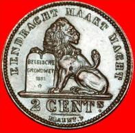★DUTCH LEGEND~LARGE DATE: BELGIUM ★2 CENTIMES 1911! ALBERT I (1909-1934) LOW START ★ NO RESERVE! - 1909-1934: Albert I