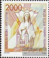 Bosnia - Croatian. Post Mostar 1 (complete Issue) Unmounted Mint / Never Hinged 1993 Ecclesiastical Monuments - Bosnia And Herzegovina