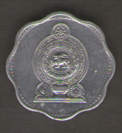 SRI LANKA 2 CENTS 1978 - Sri Lanka