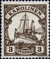 Carolines (German.Colony) 7 Unmounted Mint / Never Hinged 1901 Ship Imperial Yacht Hohenzollern - Colony: Caroline Islands