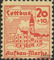 Cottbus 10w Unmounted Mint / Never Hinged 1945 Reconstruction - Private