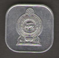 SRI LANKA 5 CENTS 1978 - Sri Lanka