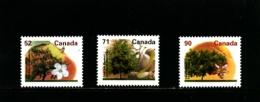 CANADA - 1995   TREES  SET  MINT NH - 1952-.... Regno Di Elizabeth II