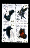 CANADA - 1995   MIGRATORY WILDLIFE  BLOCK  MINT NH - 1952-.... Regno Di Elizabeth II