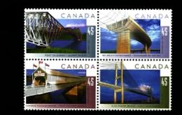 CANADA - 1995   BRIDGES  BLOCK  MINT NH - 1952-.... Regno Di Elizabeth II