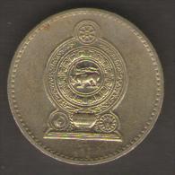 SRI LANKA 5 RUPEES 1991 - Sri Lanka