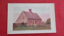 Massachusetts> Nantucket Old Coffin House --- ----1861 - Nantucket