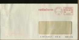 ITALIA - EMA - Affrancatura Meccanica - RATIOFORM  MEDIGLIA - Imballaggio - Affrancature Meccaniche Rosse (EMA)