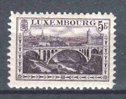 Luxemburg 1921 Mi 136A  (dent. 11,5)  MH - Ongebruikt