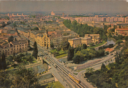 22134- TIMISOARA- TOWN PANORAMA, CAR, TRAM, TRAMWAY - Roemenië